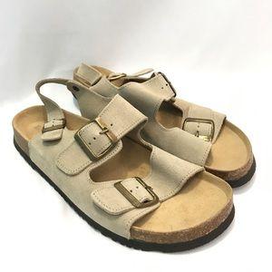 lands end new Jesus sandals sling back size 10